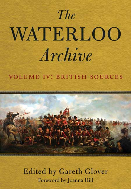 The Waterloo Archive: Volume IV