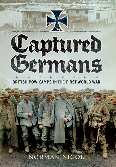 Captured Germans - British POW Camps in WWI
